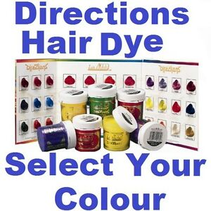 la riche directions semi permanent hair colour dye choose your colour red ebay