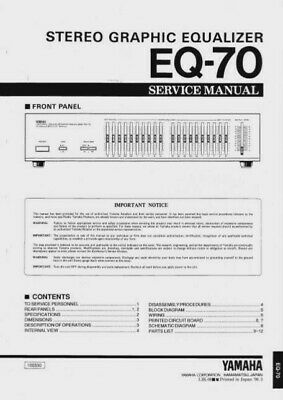 yamaha eq 70 in Receivers & Amplifiers | eBay