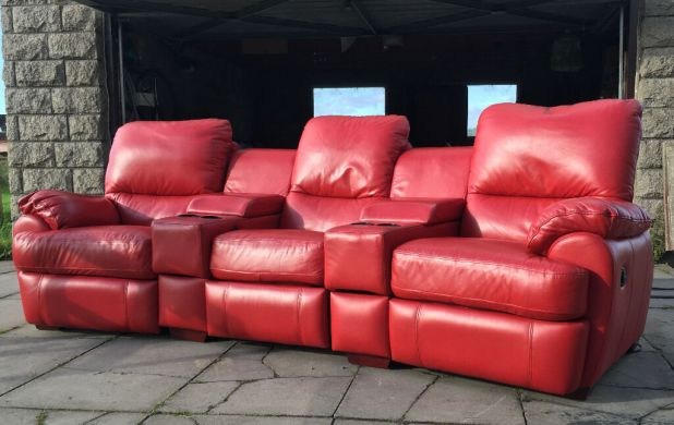 Cinema In Edinburgh With Sofas