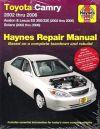 2002-2006 Camry Avalon ES300/330 02-08 Solara Haynes Repair Service Manual 0271