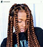 big braided hairstyles rock