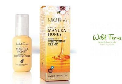Wild Ferns - Manuka Honey Whitening Creme  Aufhellende Gesichtscreme Manukahonig