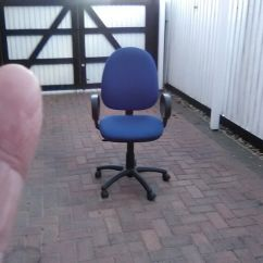 Revolving Chair Gumtree Black And Gold Accent Office Adjustable In Mablethorpe Lincolnshire