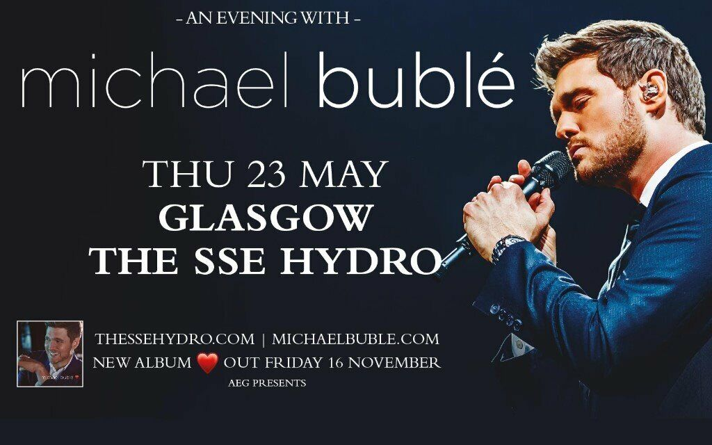 2 michael buble tickets