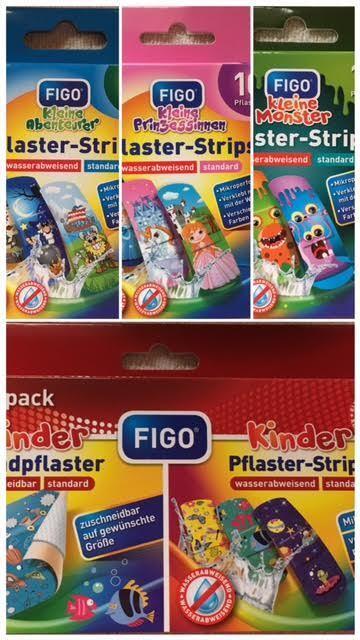 kinderpflaster Figo wasserabweisend einzeln verpackt  10 stück / OVP
