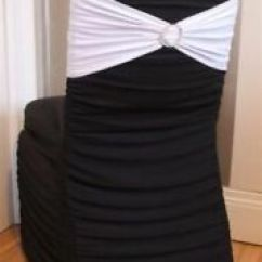 Affordable Chair Covers Calgary Oval Table And 4 Chairs Find Or Advertise Wedding Services In For Sale Black Ruched Stretch Lycra 5 Each