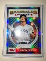 2020 Finest Flashbacks Silver Refractor Aaron Judge Baseball's Finest Yankees