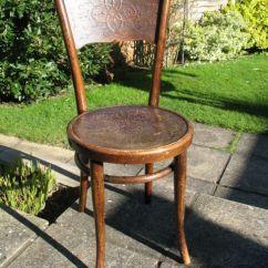 Vintage Bentwood Chairs Glider Chair Parts Replacement Rare Original Antique Thonet Vienna 1900 S