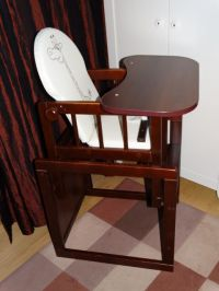BABY WOODEN HIGH CHAIR 3 in 1 COMBINATION HIGHCHAIR KIDS ...