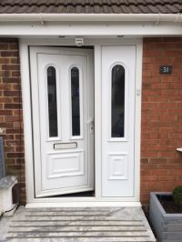 USED UPVC FRONT DOOR WITH SIDE PANEL | in Luton ...