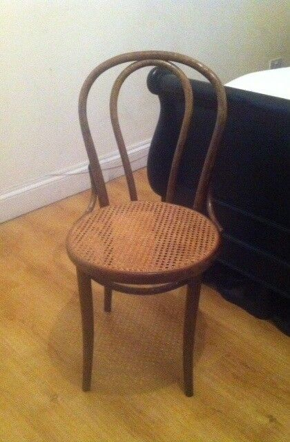 bentwood cane seat chairs american office chair thonet style no 18 made by drevounia