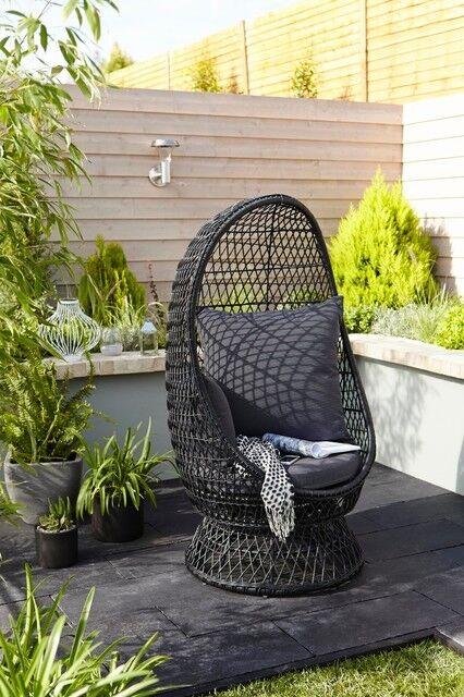 egg chair garden furniture  Home Decor
