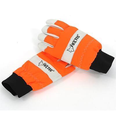 FUXTEC M Schnittschutzhandschuhe Gr.9 Benzin Kettensäge Forstschutz handschuhe