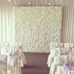 Chair Cover Christmas Decorations Revolving On Gem Wedding Floral Stage 79p Silver Hire Asian Rent Mendi ...