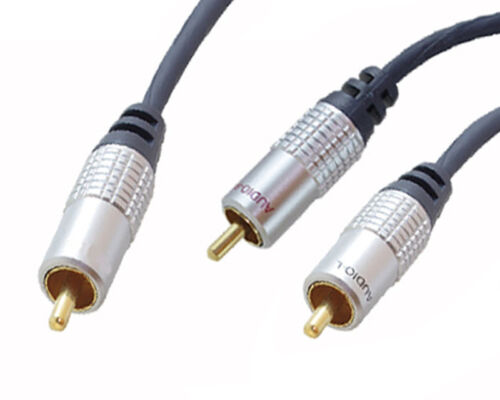 3m Y Cinch Subwooferkabel Subwoofer Kabel OFC RCA Chinch Y-Kabel Y Adapter HIFI