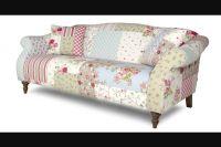 DFS patchwork sofa shabby chic
