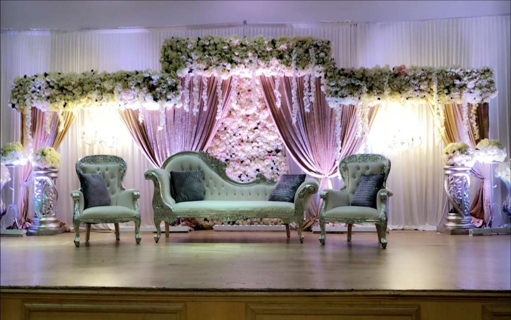 wedding chair covers burton on trent adirondack plans asian stage mehndi marquee house lights stoke derby