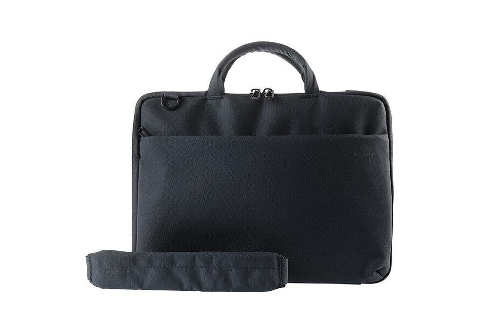 "Tucano Darkolor Hartschalentasche Laptop Tasche MacBook Notebook 14"" schwarz"
