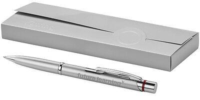 Exklusiver Rotring Kugelschreiber Madrid silber inkl. Lasergravur graviert neu