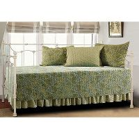 Moroccan Eucalyptus 5-piece Day Bed Quilt Set | eBay