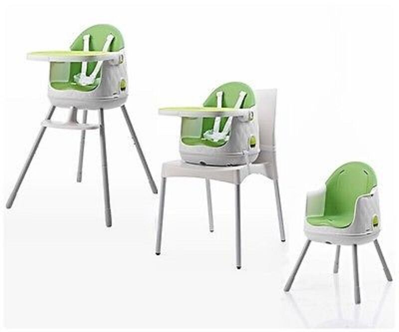 green high chair average cost of table and rentals 4moms white piccolinobaby keter multi dine baby 3 in 1 brand new