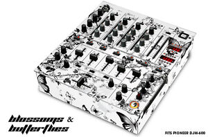 Skin Decal Wrap FOR Pioneer DJM 600 DJ Mixer CD PRO Audio