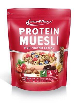 (9,94€/1kg) IronMaxx Protein Müsli (2000g)