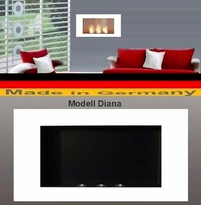 Fireplace Fire place Bio-Ethanol Ethanol GEL Modell DIANA White Cheminee Heater
