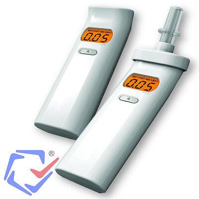 Digitaler Alkomat Alkoholtester Mundstücke Promilletester LCD Beleuchtet