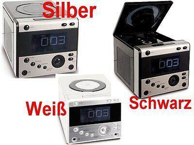 UHRENRADIO MIT CD PLAYER WECKRADIO RADIOWECKER KÜCHENRADIO verschiedene Farben !
