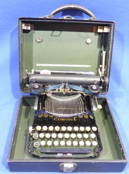 Corona 3 Folding - Schreibmaschine typewriter - 0158
