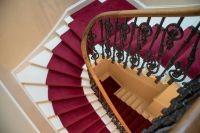 High quality XL majestic red stair runner carpet perfect ...