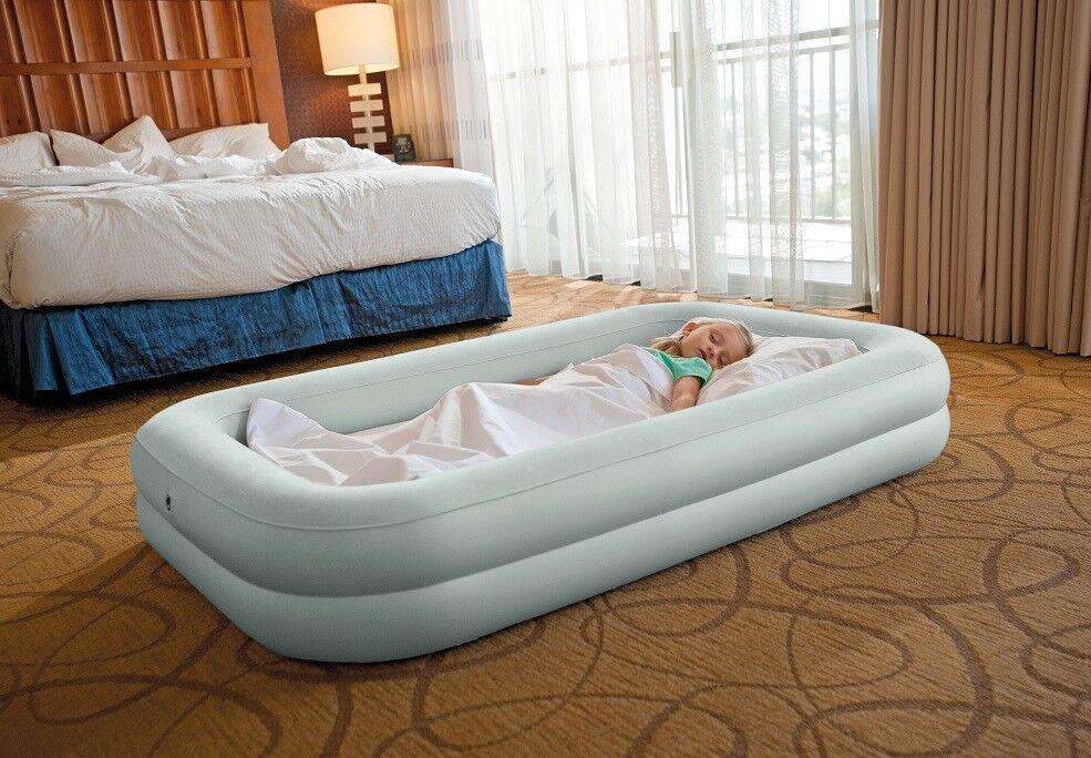 INTEX Kinder Reisebett Set Kinderbett Luftbett Gästebett Matratze 66810
