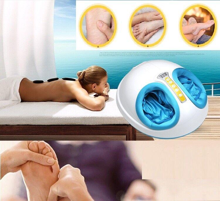 J021 Massagegerät Fußmassagegerät Wärmefunktion Shiatsu Nacken Schulter Rücken