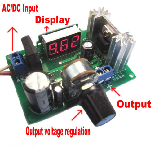 Power Supply Current And Voltage Regulated By Lm317 Or Lm350