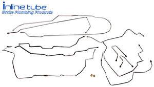 1995 99 Tahoe Yukon Brake Line Set Kit Chevy GMC SUV 1 2