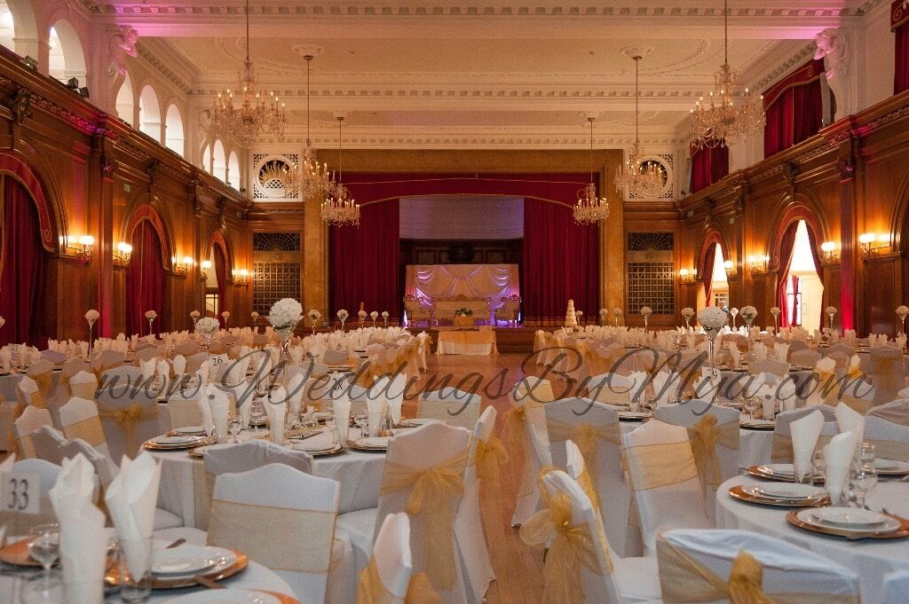 cream chair covers for weddings memory foam bean bag reviews cover hire 79p ivory table cloth rental 9 wedding decoration 4 royal in elephant and castle london gumtree
