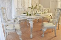 UNIQUE *** French Antique Shabby Chic Dining Table with