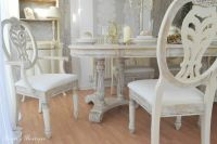 UNIQUE *** French Provence Shabby Chic Dining Table with