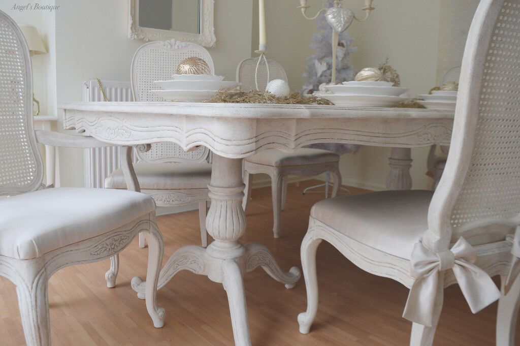Christmas Sale French Antique Shabby Chic Dining