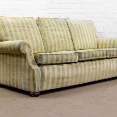 Blue Striped Sofa Uk Au Sleeper Macy Nice Traditional British Design Three Seater In Stripes Delivery