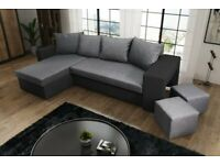 corner sofa bed oslo mini storage container sleep function new luxury leather sets with futons for sale gumtree brand 2 and footstools free