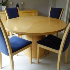 Maple Kitchen Table Cupboard Hardware Skovby Extending Dining 4 Chairs In Holmes Chapel