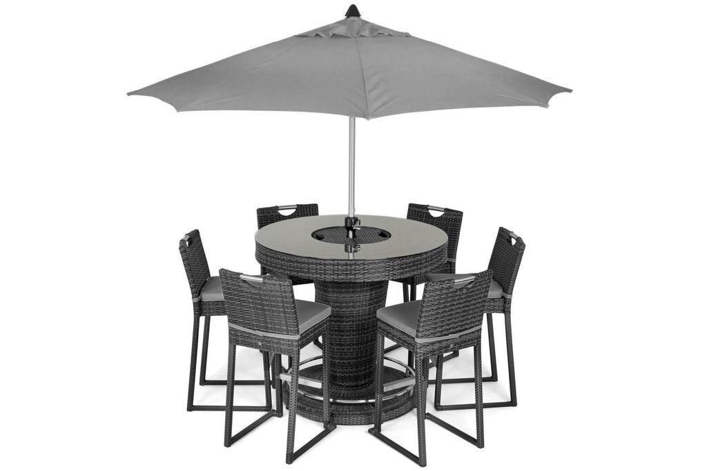 patio garden furniture bar sets for