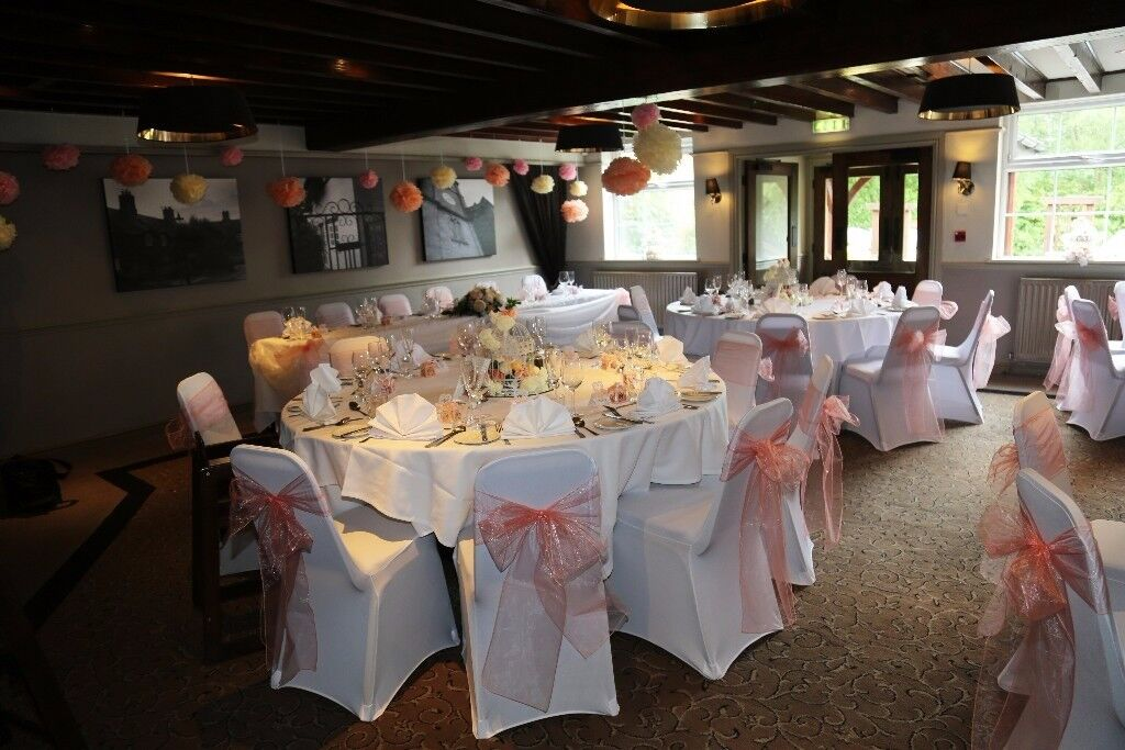 chair cover hire tamworth wave hill wedding in atherstone warwickshire gumtree