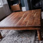 Large Square Solid Wood Coffee Table In Islington London Gumtree