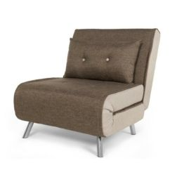 Single Sofa Chair Cama Con Chaise Longue Arcon Haru Bed Woodland Brown By Made Com In