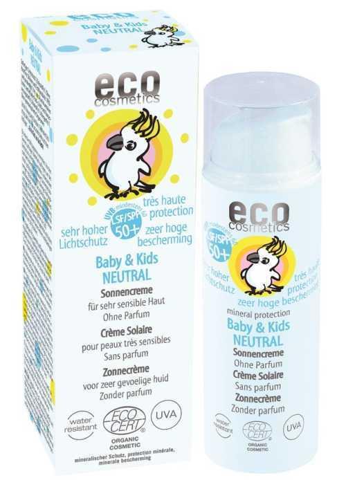 Eco Baby & Kids Sonnencreme LSF 50+ neutral 50ml