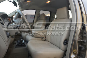 2006 2008 Dodge Ram Quad Cab Leather Seat Upholstery