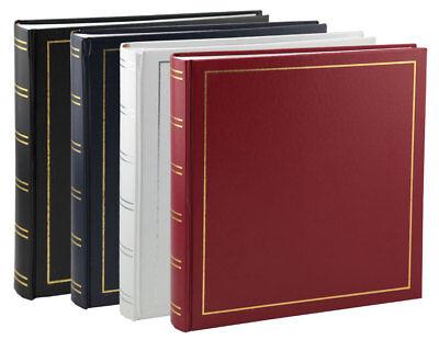 Tradition Fotoalbum in 30x30 cm 100 Seiten Jumbo Fotoalbum Buchalbum